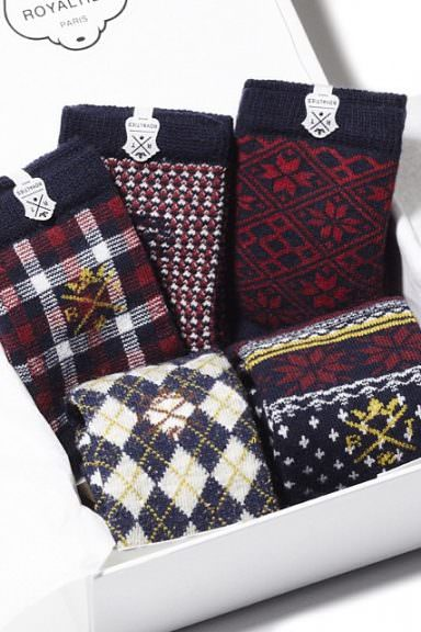 chaussettes royalties homme